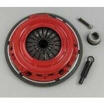 McLeod Mustang 10 Spline Street Twin Clutch Kit w/ 6 Bolt Aluminum Flywheel (96-04 Mustang GT ; Bullitt)