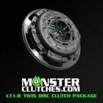 Monster Clutch MCLT1RC6BB LT1-R Twin Disc Clutch Package w/Standard Weight Flywheel - C6 Corvette Rated at 1100 RWHP/RWTQ