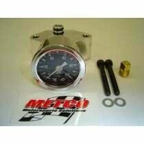 Metco Motorsports 99-04 Mustang Fuel Block Kit with Gauge