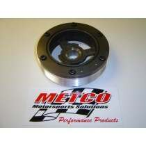 Metco MCP2005 12% Overdrive Crank Pulley for Modular V8                                                                      Fits 6 and 8-rib  (Various Mustang)