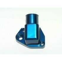 """Meziere 302-351w Water Neck w/ 1-1/2"""" Hose Connection (Blue)"""