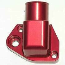 "Meziere 302-351w Water Neck w/ 1-1/2"" Hose Connection (Red)"