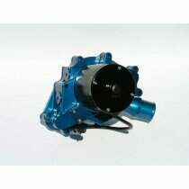 Meziere 86-93 Mustang 5.0L 55GPM Electric Water Pump - No Idler (Blue)