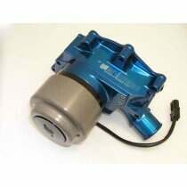 Meziere 86-93 Mustang 5.0L 55GPM Electric Water Pump - With Idler (Blue)