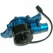 Meziere 94-95 Mustang 5.0L 55GPM Electric Water Pump - No Idler (Blue)