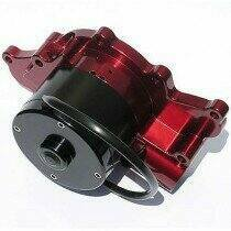 Meziere 94-95 Mustang 5.0L 55GPM Electric Water Pump - No Idler (Red)