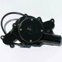 Meziere 94-95 Mustang 5.0L 55GPM Electric Water Pump - No Idler (Black)