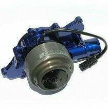Meziere 94-95 Mustang 5.0L 55GPM Street Electric Water Pump - With Idler (Blue)