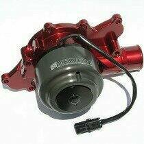 Meziere 94-95 Mustang 5.0L 55GPM Street Electric Water Pump - With Idler (Red)