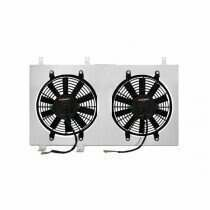 "Mishimoto 79-93 Mustang High Flow Dual 12"" Fan and Aluminum Shroud Kit (5.0L)"