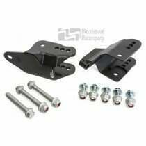 Maximum Motorsports 05-2014 Mustang Rear Lower Control Arm Relocation Brackets - MM5RLCA-57