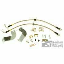 Maximum Motorsports 99-04 Cobra Stainless Rear Brake Line Kit - MMBK9R