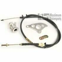 Maximum Motorsports 82-04 Mustang Firewall Adjuster, Quadrant and Cable Kit - MMCP-51
