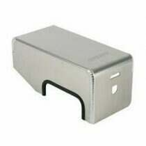 Moroso 05-09 Mustang GT / 07-09 GT500 Fuse Box Cover (Bare Aluminum)