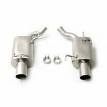 LTH FDAB00001T 2005-2010 Mustang GT Axleback Exhaust System with Titan Tips