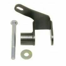 BMR 05-2014 Mustang Panhard Bar Relocation Bracket (Black Hammertone)