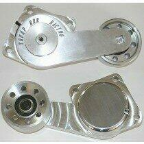 Thump RRR Racing PM-1002-76-G HD Billet Aluminum Belt Tensioner w/ 76mm Idler (Grooved Pulley)