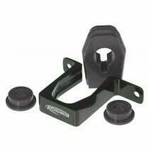 Prothane 2011-2014 Mustang Billet Shifter Bracket and Bushings (Black)