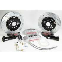 "Baer 1979-2004 Mustang 14"" Front Pro+ Brake System (Silver Calipers)"