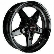 "Race Star Drag Wheel 17"" x 7"" - Dark Star Finish (1979-2014 Mustang, Excludes 2013-2014 GT500)"
