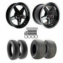 Lethal Performance 2015-2018 Mustang Drag Wheel and Tire Package