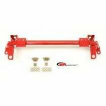 BMR Radiator Support With Sway Bar Mounts (Red)