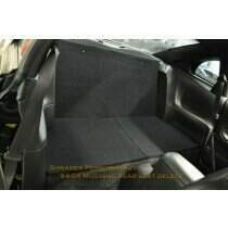 Shrader Performance 94-04 Mustang Rear Seat Delete (Coupe)