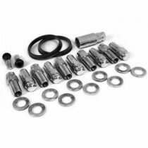 "Race Star Industries 1/2"" x 20 Closed End Lug Nut Kit for Direct Drilled Wheels (Half Kit / 10pcs)"