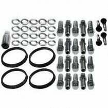 "Race Star Industries 1/2"" x 20 Open End Lug Nut Kit for Direct Drilled Wheels (Full Kit / 20pcs)"