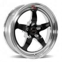 "Weld Racing 2007-2020 Mustang 18x5"" S71 RT-S Front Wheel for OEM Brembo's (Black) - 71HB8050A21A"