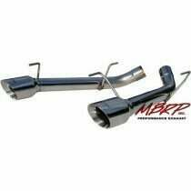 MBRP 05-2010 Mustang GT T-304 Stainless Dual AxleBack -No Mufflers