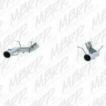 """MBRP 2011-2014 Mustang 5.0L 3"""" Muffler Delete Axle-backs w/4"""" Tips (T304)"""