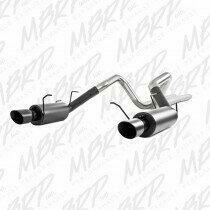 MBRP  2011-2014 Mustang 5.0L Street Cat Back with BLACK Tips - S7258BLK