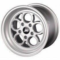 JMS 94-04 Mustang 15x10 Savage Style Wheel (Silver Diamond Cut)