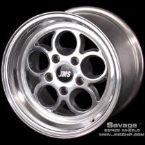 JMS 05-2014 Mustang 15x10 Savage Style Wheel (Polished)