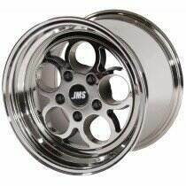 JMS 94-04 Mustang 15x10 Savage Style Wheel (White Chrome)