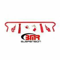 BMR 05-2014 Mustang 25mm Hollow Adjustable Rear Sway Bar Kit (Red)