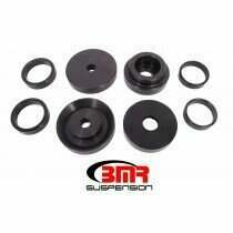 BMR SCB110 2008-2018 Challenger Bushing Kit, Rear Cradle Lockout (Black Anodized)