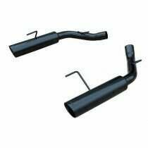 Pypes Mustang Pype Bomb Axle Back (Black Powdercoat)