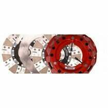Mcleod Racing 84308B07M SFT 2000 Twin Disc Clutch Kit with Steel Flywheel (1996-2004 Cobra / 2003-2004 Mach 1 / 2007-2009 GT500 / Magnum XL Swap)