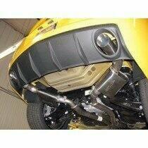 "SLP V8 Camaro ""PowerFlo"" Axleback System with 4"" Tips"