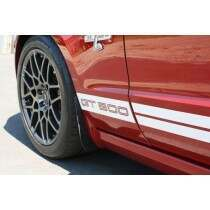 JLT JLTSGFR-M1014 Splash Guards (2010-14 Mustang GT, GT500, Roush & CS)
