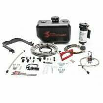 Snow Performance SNO-2130-BRD 2005-2010 Ford Mustang GT 4.6L Stage 2 Boost Cooler Forced Induction Water-Methanol Injection Kit (Braided Line)