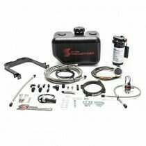 Snow Performance SNO-2171-BRD Stage 2 Boost Cooler Water-Methanol Injection Kit w/ Stainless Steel Braided Line, 4AN Fittings (2015+ Dodge Challenger/Charger Hellcat/Demon)