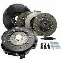 Tilton 55-1003 ST-246 Twin Disc Clutch Kit Sprung Hub Organic (Ford Small Block* Tremec T56 6 Speed / TKO 5 Speed 26 Spline)