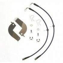 Stifflers FORD- MUSTANGREARS-18 99-04 Cobra Rear Stainless Steel Brake Hose Kit (2 pc)