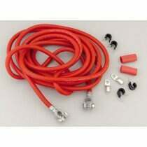Taylor 1 Gauge Red Battery Cable