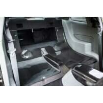 TruCarbon 2005-2014 Mustang Carbon Fiber LG123-LG81 Rear Seat Delete Kit