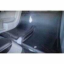 TruCarbon 2005-2014 Mustang Carbon Fiber LG124-LG81 Rear Seat Delete Kit