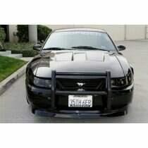 "TruCarbon 1999-2004 Mustang Carbon Fiber ""2003 Cobra"" Style A45 Hood (Fits GT and V6 bumper covers)"
